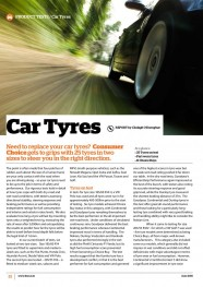 Car Tyres - June 2015 image