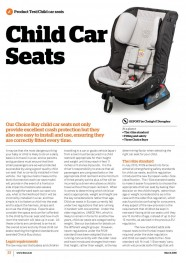 Child Car Seats - March 2016 image