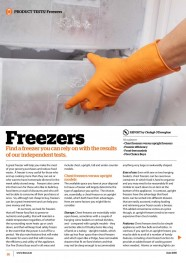 Freezers - June 2015 image