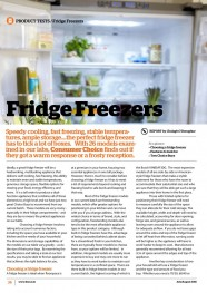 Fridge Freezers - JulyAugust 2016-image