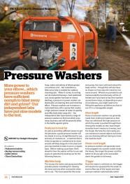 Pressure Washers JulyAugust 2017