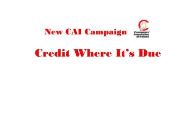 New CAI Campaign image