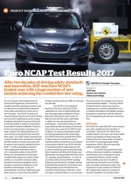 Euro NCAP Test Results 2017 - February 2018