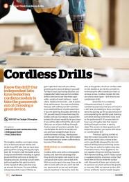 Cordless Drills June 2018