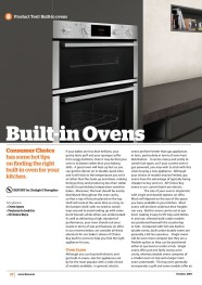 Built-in Ovens October 2019-