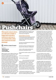 Pushchairs October 2019