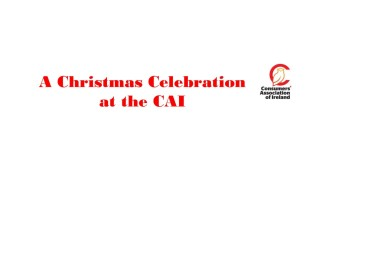 A Christmas Celebration at the CAI 2