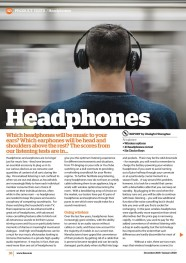Headphones December 2019-January 2020-