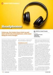 Headphones november