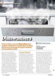 Dishwashers Oct 2021