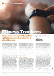 Fitness Trackers Oct 2021